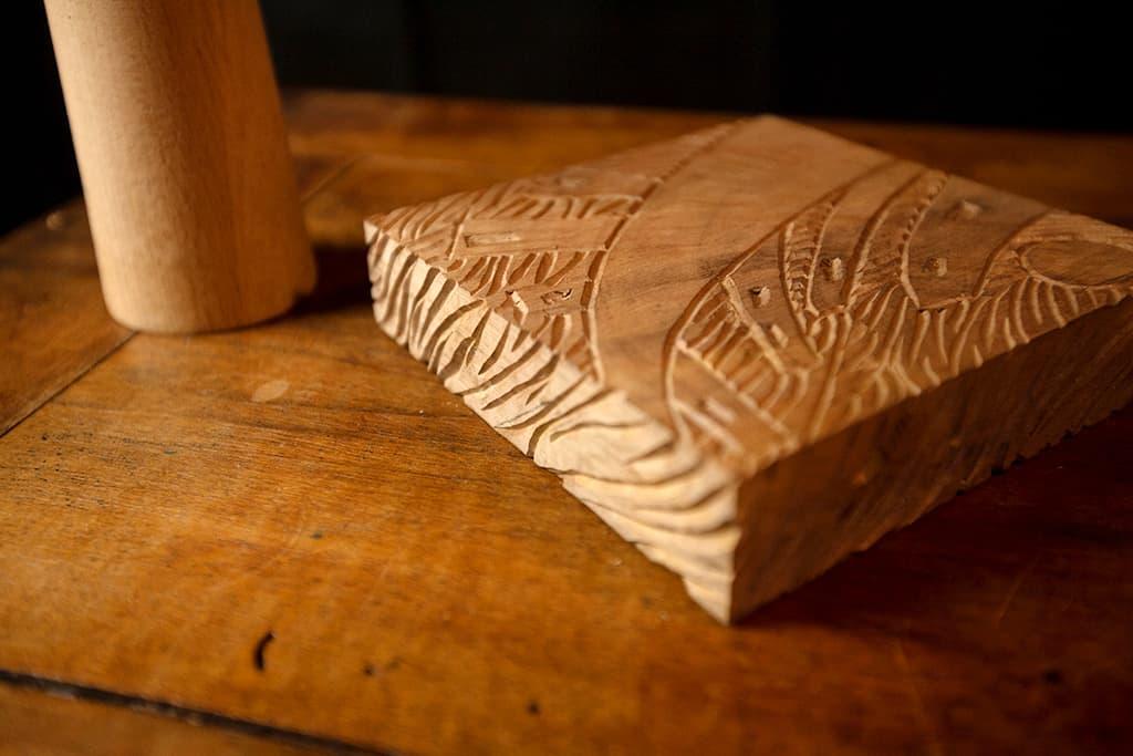 carved base